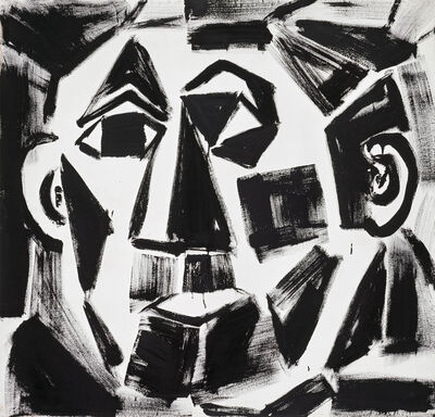 """A.R. Penck, '""""Untitled""""', 1982"""