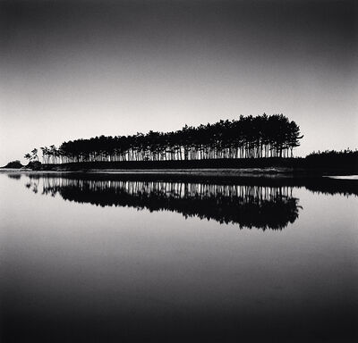 Michael Kenna, 'Pine Trees, Study 5, Unyeo Beach, Chungcheongnam-do, South Korea', 2018