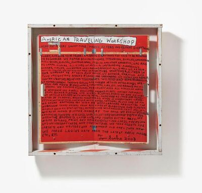 Tom Sachs, 'American Traveling Workshop', 2003
