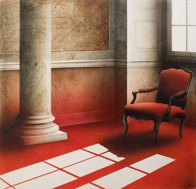Alain Gazier, 'Entrée rouge écarlate (The Scarlet Entry)'