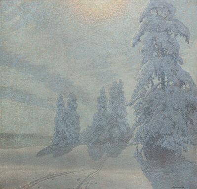 Gustaf Edolf Fjaestad, 'Winter Landscape', 1908