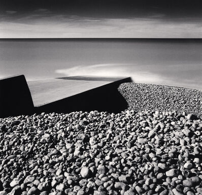 Michael Kenna, 'PEBBLE BEACH, AULT, PICARDY, FRANCE, 2009', 2009