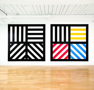 Sol LeWitt, 'Wall Drawing #391', 1983