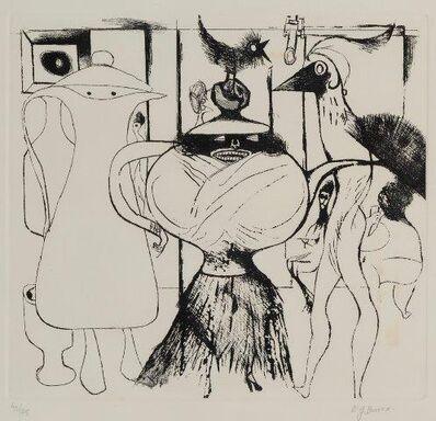 Edward Burra, 'Surreal Cafe', 1972