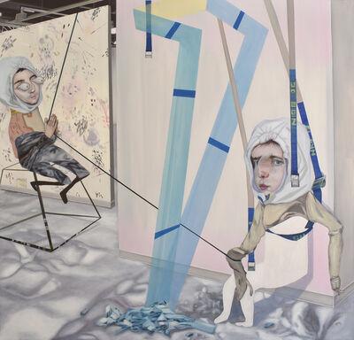 Carolina Muñoz, 'Escalador de esculturas', 2020