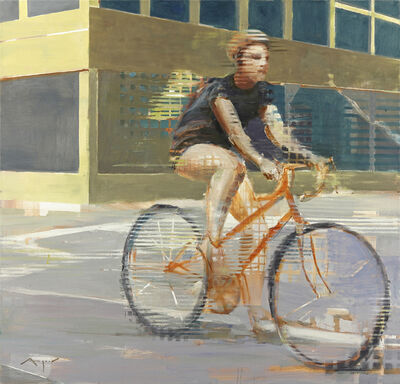 Michael Azgour, 'Girl on a Bike', 2013