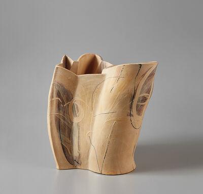"""Alison Britton, '""""Pale Double Pot""""', 1995"""