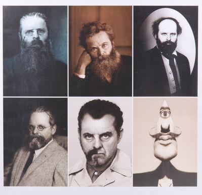 Gavin Turk, 'Rodin, Morris, Cezanne, Matisse, Man Ray, Dali', 2015