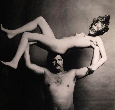 Guy Bourdin, 'Strongman and Nude', 1972