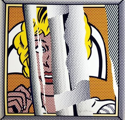 Roy Lichtenstein, 'Reflection of a Nurse (signed)'