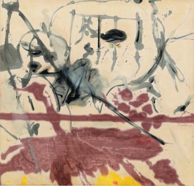 Helen Frankenthaler, 'Venus and the Mirror', 1956