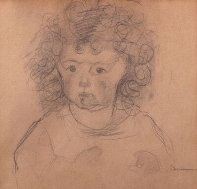 Umberto Boccioni, 'Girl with curly hair, (portrait of Fiammetta Sarfatti)', 1910