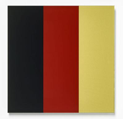 Gerhard Richter, 'Schwarz-Rot-Gold IV (Black-Red-Gold IV)', 2015