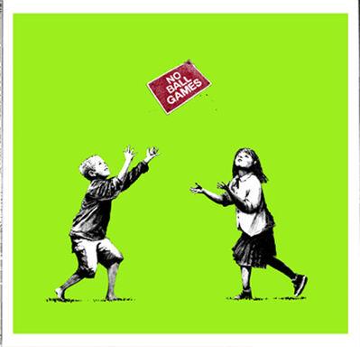 Banksy, 'No Ball Games', 2008