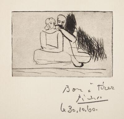 Pablo Picasso, 'Couple au bord de l'eau', 1925