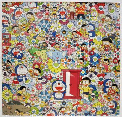 Takashi Murakami, 'Takashi Murakami x Doraemon Framed Print (Tokyo Exclusive)', 2017