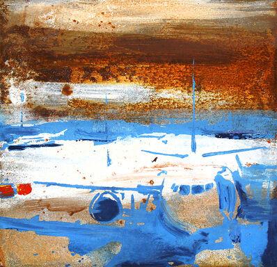 Alessandro Busci, 'Aeroporto azzurro', 2019