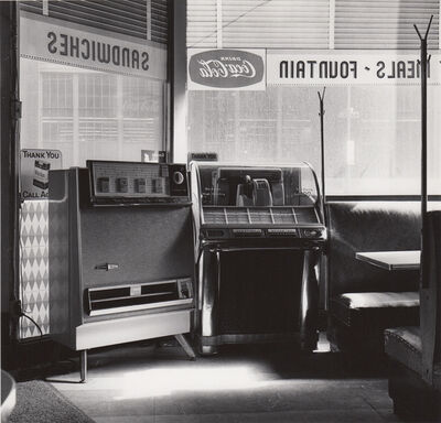 Ed Sievers, 'Untitled (jukebox in diner)', c. 1960's