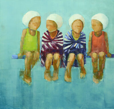 Rebecca Kinkead, 'Swim Team in Repose', 2018