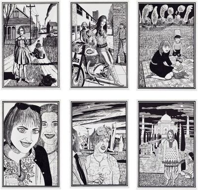 Grayson Perry, 'Six Snapshots of Julie (Set of 6)', 2015