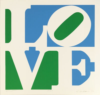 Robert Indiana, 'Lily (from A Garden of Love)', 1982