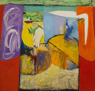 Harold Garde, 'Kimono Against Red', 1997