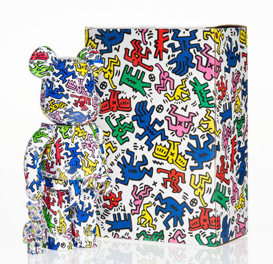 BE@RBRICK X Keith Haring Estate, 'Keith Haring 400% and 100%', 2017