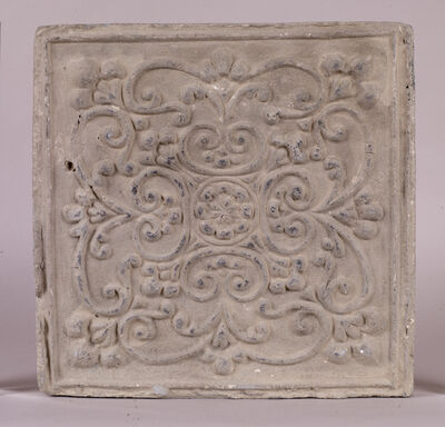 Unknown Chinese, 'Floor tile', Tang dynasty (618–907 CE)