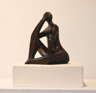 Elizabeth Catlett, 'Seated Woman', ca. 1988