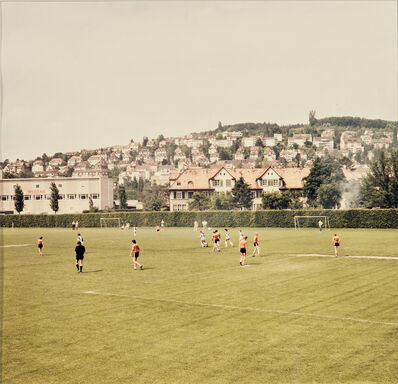 Andreas Gursky, 'Zurich', 1985