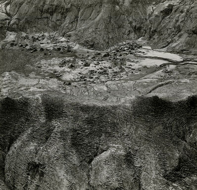 Emmet Gowin, 'Area of Spirit Lake, Mount Saint Helens', 1980