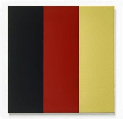 Gerhard Richter, 'Schwarz-Rot-Gold IV', 2015