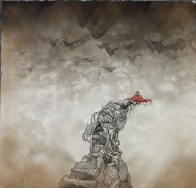 Zhenhua He, '转山系列 - 之二十三', 2016