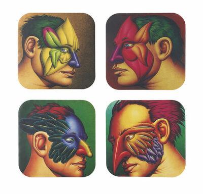 Robert Lostutter, 'Coasters', 1998