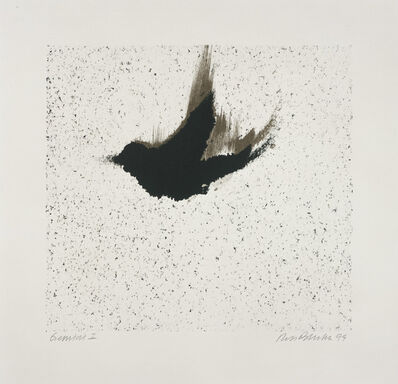 Ross Bleckner, 'Single Bird (State)', 1999