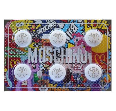 Jonathan Paul (aka Desire Obtain Cherish), 'Designer Drugs - Moschino', 2017