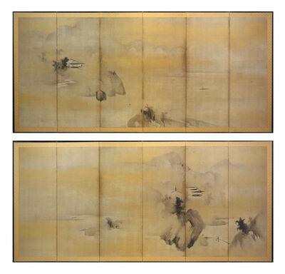 Kaihō Yūshō, 'Landscape', ca. 1602