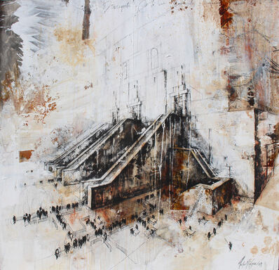 Gustavo Diaz Sosa, 'Caminos divergentes', 2019