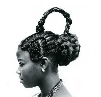 J.D. 'Okhai Ojeikere, 'Abebe', 1975