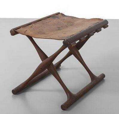 Poul Hundevad, 'A stool 'sedia della tomba dell'oro' 60s.'