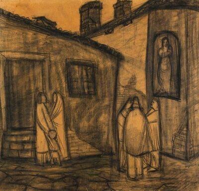 Orazio Toschi, 'Country Scene', 1960's