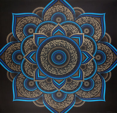 Cryptik, 'Blue Lotus', 2018