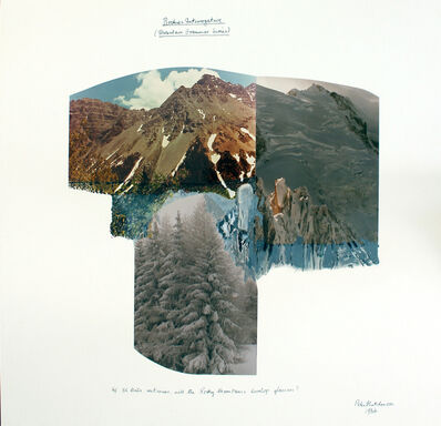 Peter Arthur Hutchinson, 'Rockies Interrogative (From the Mountain Grammar Series)', 1984