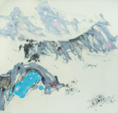 Hu Chi-Chung 胡奇中, 'Mountain Ranges (Painting 7211)', 1972