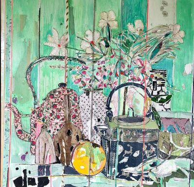 Mersuka Dopazo, 'Still Life with Kettle', 2018