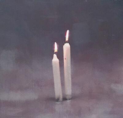 "Valentin Popov, '""Two Candles""', 2018"