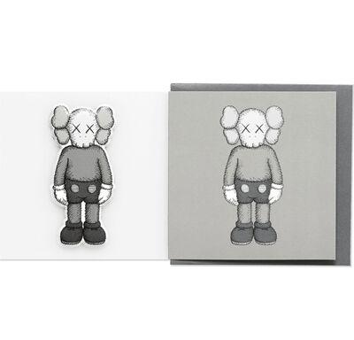 KAWS, 'KAWS x NGV Companion Greeting Card with Puffy Sticker (Grey)', 2019