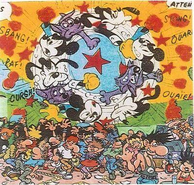 Erró, 'Disney Tornade', 2000