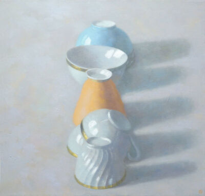 Olga Antonova, 'Line of Cups', 2014