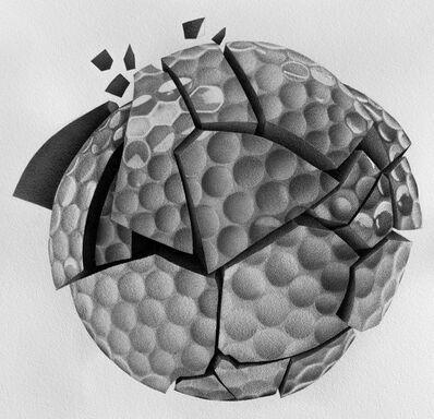 Julia Koceva, 'Broken Golf Ball', 2018